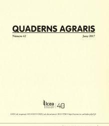 Quaderns Agraris núm. 42 : juny 2017
